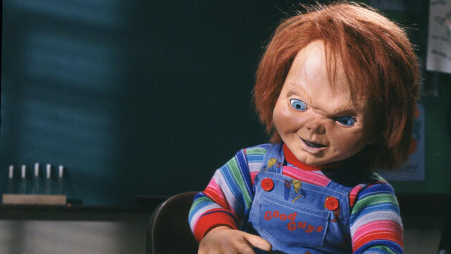 Photo of Chucky stops in at Square One for shooting of TELEVISION series in Mississauga