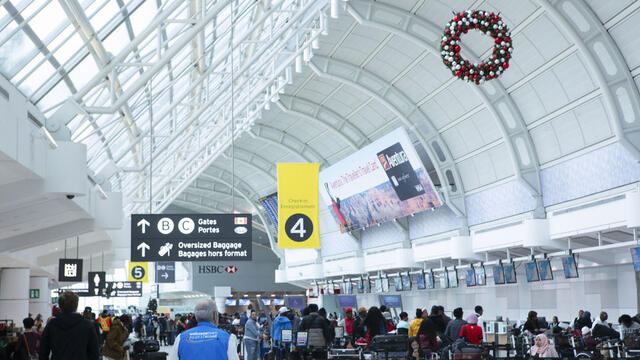 Photo of Man billed after passing fake COVID-19 test at Mississauga's Pearson Airport